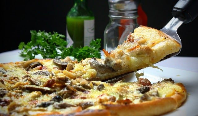 Pizza is a food that can make you age faster