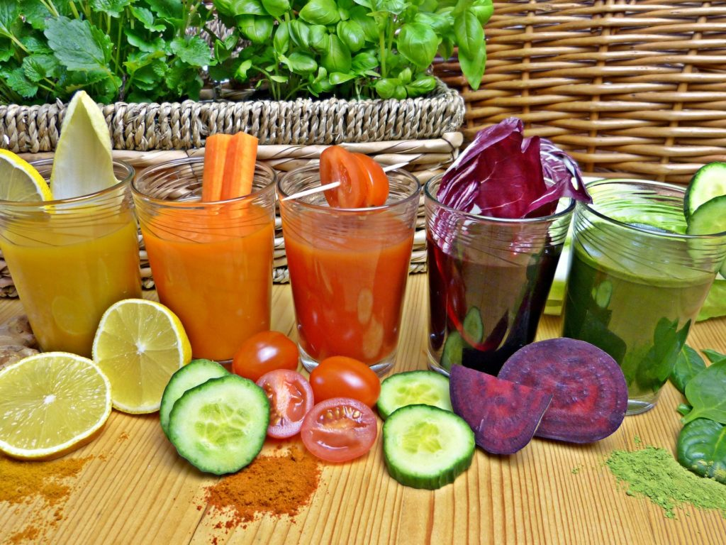 Vegetable juice for fast weight loss