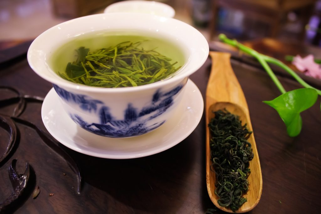 Chinese green tea - Fat burning drink at home