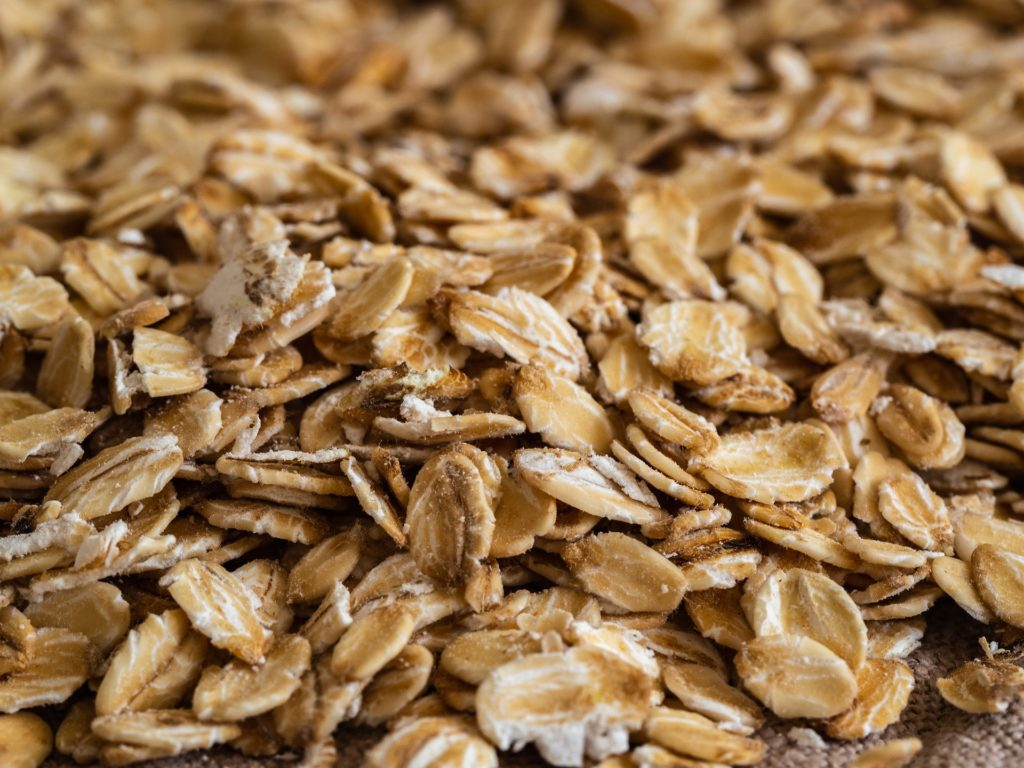 Oats with protein powder