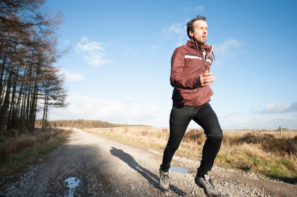 Running training from home