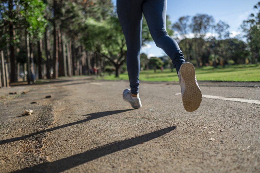 Foot Striking When Running